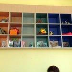 Bare Toy Shelves
