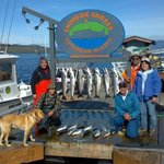 limits of silver salmon!