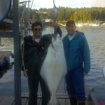  63 lb halibut