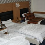 beds in room