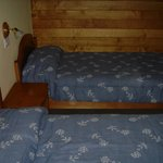 Middle floor double bed