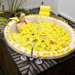  Spa Flower Bath
