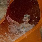 Orange Water Slide