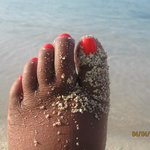 just to have my feet in the sand made me happy