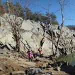 Rock Scrambling on Billy Goat A Trail