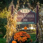 Fall At Zoar School Inn