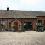 The Exe Valley Bed and Breakfast at Barnhill Cottage is a converted stable block and blacksmithy