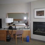  Room #462 - Desk Area and Fireplace