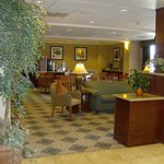  Hampton Inn Grand Island Lobby and Breakfast Dining Area