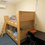  Twin room: bunk beds and a desk!