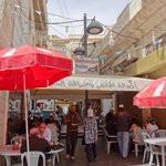 Hashem Restaurant - excellent value falafels a minute's walk from hotel