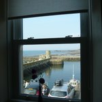  The view from our window over the harbour