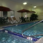  Take A Dip In our Indoor Heated Pool &amp; Jacuzzi Spa!