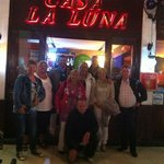 leo lukassen with friends in casa la luna