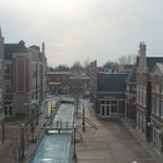  View of the Molengracht from top of the Royal Amsterdam