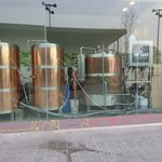Mini brewery beside hotel :)