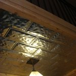  Loved the unusual touches like tin ceilings