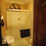 Bathroom.  Shower also has water jets.