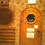 one of the sauna rooms