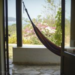 Hammock view at La Casona