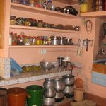 Eliyama's tidy and spotlessly clean kitchen