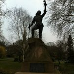 Richard III statue in Castle Gardens