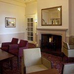 Enjoy a drink in the cosy Fire Lounge