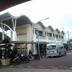 Lumut terminal that near by the hotel to Pangkor Island
