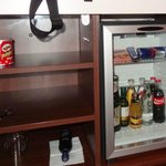  In-room minibar