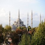  Blue Mosque view from terrace