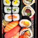 this is the larger take away sushi set :-)