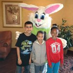 Easter Sunday 2013 Breakfast with the Easter Bunny