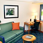 Executive King Suite Sitting Area