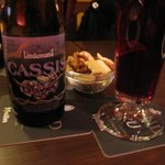 Yummy blackcurrant beer