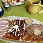  The pancake sampler
