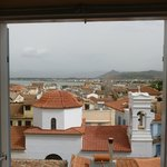 View of the Nafplio from our room