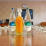  Complimentary water and cordials for all delegates...