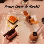  Assiette de desserts