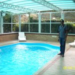  S curtindo a piscina