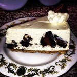cookies and cream cheese cake .. delicious!!!
