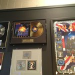  Wall of Def Leppard memorabilia outside The Joint.  A nice touch.