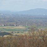This is the view of Burnside Bridge area of the Antietam Battlefield
