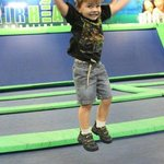 5 Year Old Child Jumping at AirheadsUSA