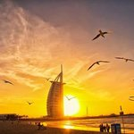 Burj Al Arab beach