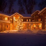 Bentwood Inn Winter Night Shot