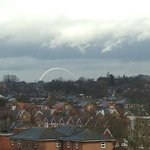 View of Wembley arch (it is zoomed in)