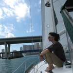 Sailing in Biscayne Bay