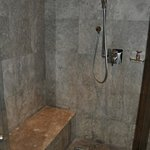 Shower in the room - I loved my bathroom