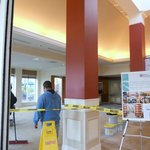  Lobby major construction mid April 2013