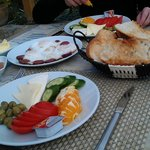 Turkish Breakfast...on the terrace every morning in March/April